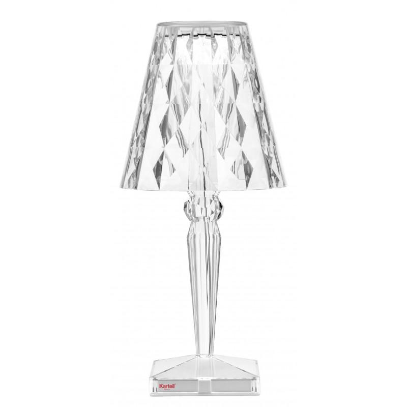 Lampe Led Sans Fil Big Battery Cristal Kartell Comptoir Des Lustres