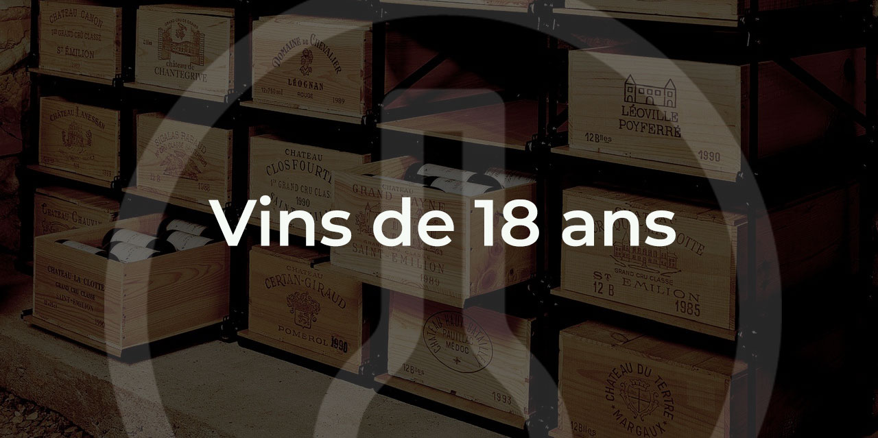 Cadeau vin de 18 ANS