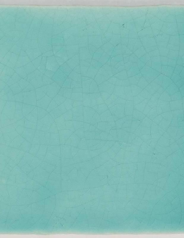 Carrelage Mural Terre Cuite Emaillee Vert D Eau Ce1402005
