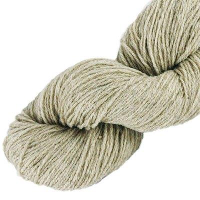 Laine naturelle Française - Voile de lin - Echeveau de pure laine de pays à tricoter,