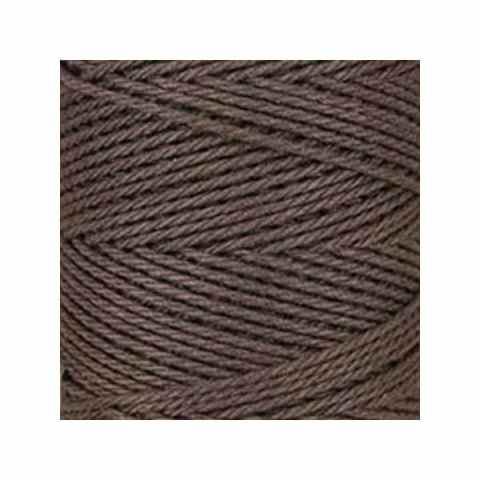 Macramé - corde - ficelle - coton- marron chocolat - cordon - fil 2,5mm - vendu au mètre