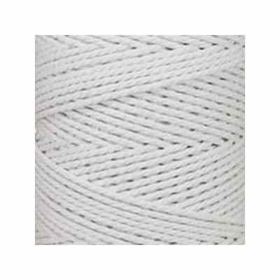 Macramé - corde - ficelle - coton- blanc - cordon - fil 2,5 mm - vendu au mètre