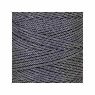 Macramé - corde - ficelle - coton - gris ardoise - cordon - fil 2,5 mm - vendu au mètre