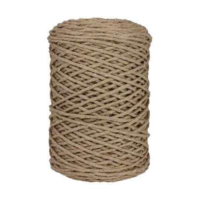 Coton bitord, barbante, fil de coton, 3 mm, ficelle