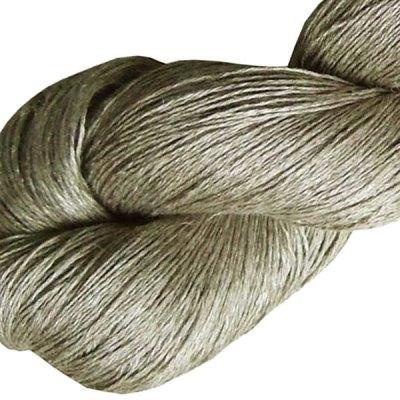 Fil de lin - Beige cendré - Tricot - Crochet