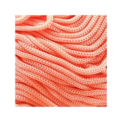 Cordon Swan Thai - Corde Thailandaise - Fil de 2mm - Rose saumon - tricot - crochet - sacs