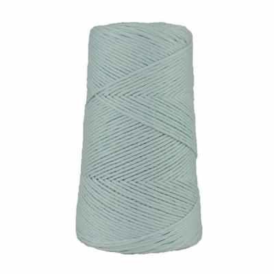 Cordon - corde - coton peigné suprême - fil de 2mm - bleu dragée - macramé - crochet - tricot - tissage