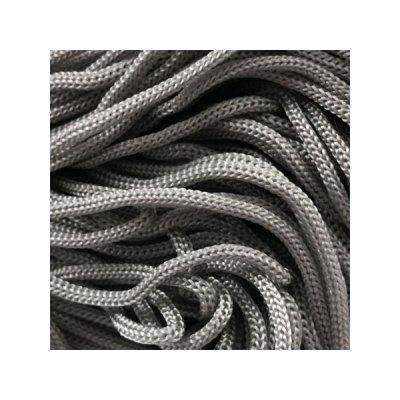 Cordon Swan Thai - Corde Thailandaise - Fil de 2mm - Gris acier - tricot - crochet - sacs