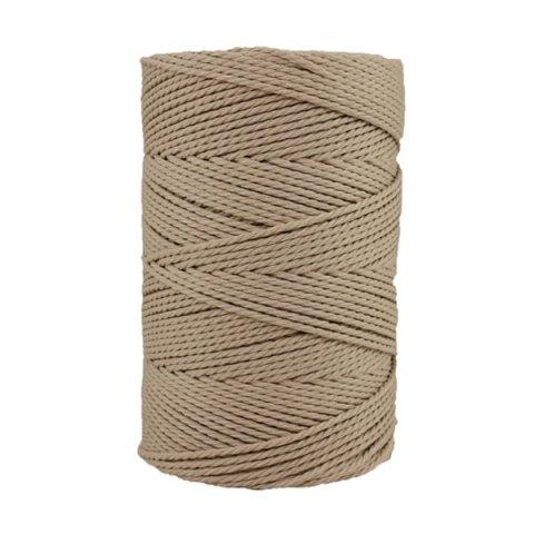 Macramé - corde - ficelle - coton- cordon - fil 2,5mm - Mastic