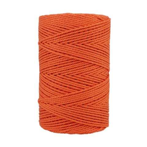 Macramé - corde - ficelle - coton- cordon - fil 2,5mm - Abricot