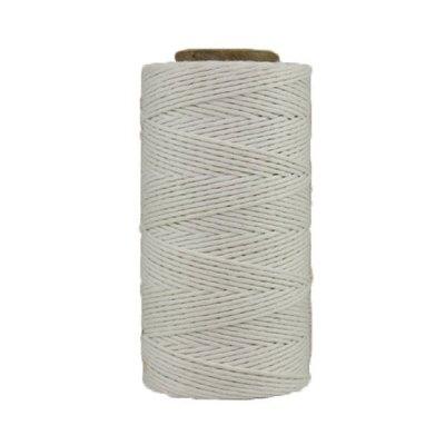 01 - Coton ciré - Blanc