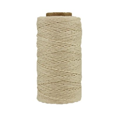03 - Ficelle Coton ciré - Naturel