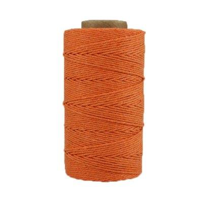 Ficelle Coton ciré - Mandarine