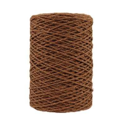 Coton bitord - Barbante - Fil de coton - Noisette