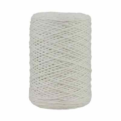 Coton bitord - Barbante - Fil de coton - Blanc