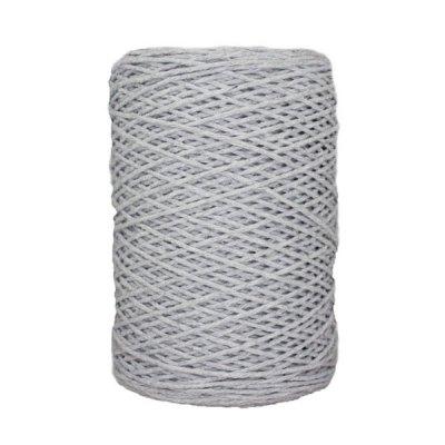 Coton bitord (barbante) - 2 mm - Gris perle