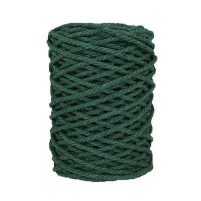 Cordon macramé - Vert mélèze