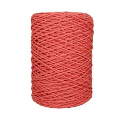 Coton bitord (barbante) - 2 mm - Rose incarnat