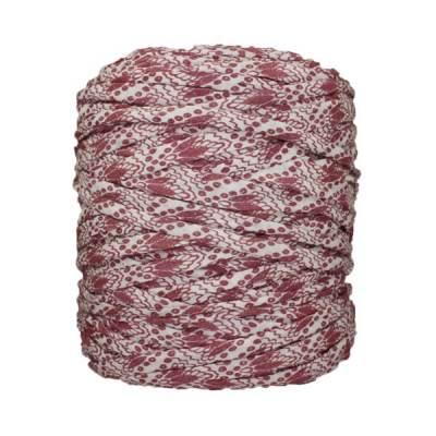 Trapilho-bobine-imprimé-rose-blanc-cassé