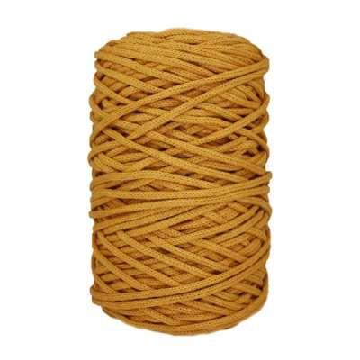 Cordon coton tressé - 3 mm - Safran