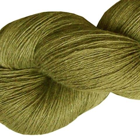 Fil de lin - Vert olive - Tricot - Crochet