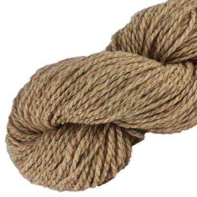 Laine naturelle Française - Café glacé - Echeveau de pure laine de pays à tricoter