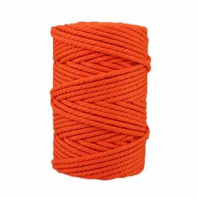 Corde macramé - 4 mm - Orange