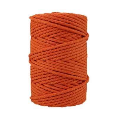 Corde macramé - 4 mm - Orange brulée