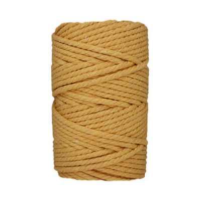 Corde macramé - 4 mm - Jaune maïs