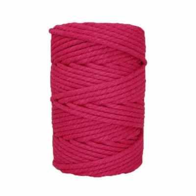 Corde macramé - 4 mm - Magenta