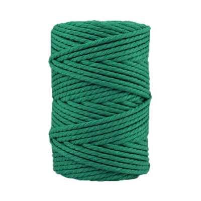 Corde macramé - 4 mm - Vert malachite