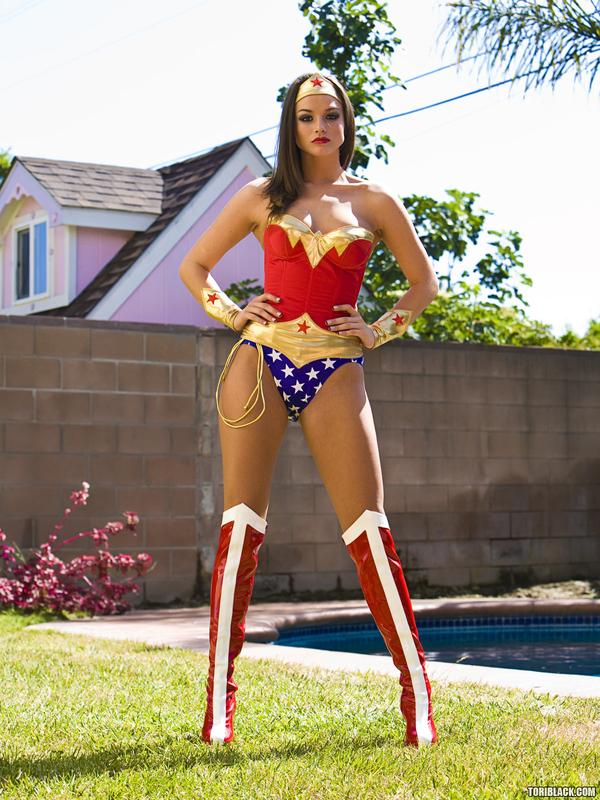 Tori Black Wonder Woman