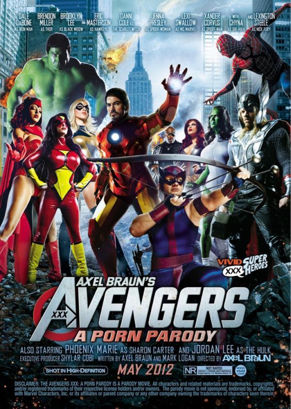 El Cast de Avengers XXX: A Porn Parody