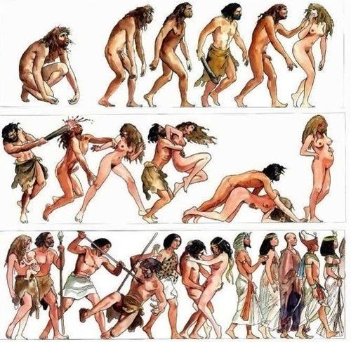 La historia de la humanidad según Milo Manara