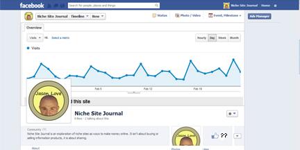 Niche Site Facebook Page