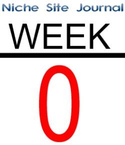 Niche Site Journal 2.0 – Week 0