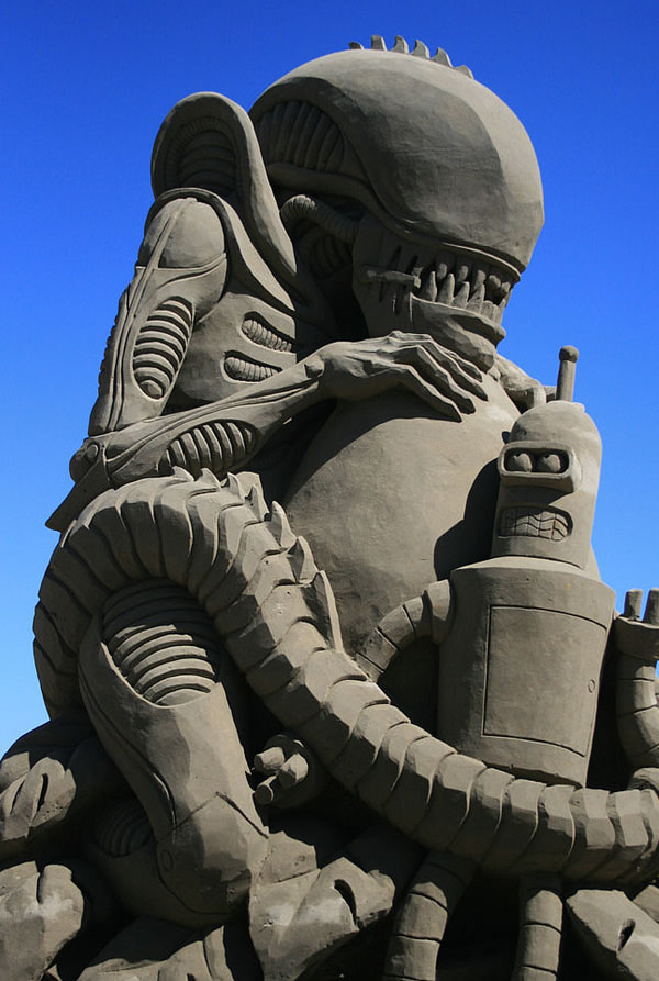 Alien Vs Bender