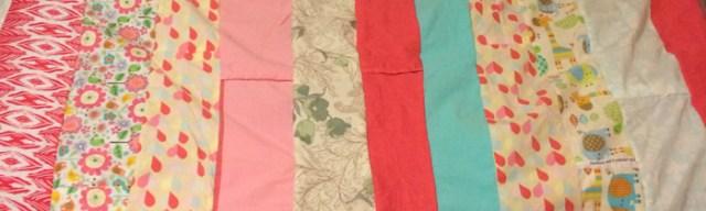 Stripes from Duvet Cover