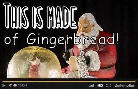 Gingerbread Sculpting!