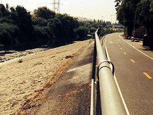 Path along the LA River
