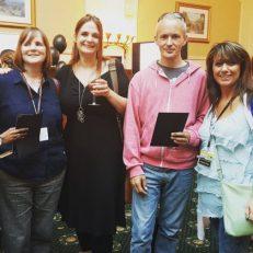 Sarah Hilary, Cally Taylor & Graham Cameron