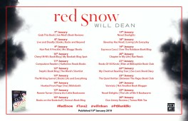 Red Snow Blog Tour Poster