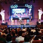 Video Wall gira Tigo-UNE para presentación de marketing en la compañía