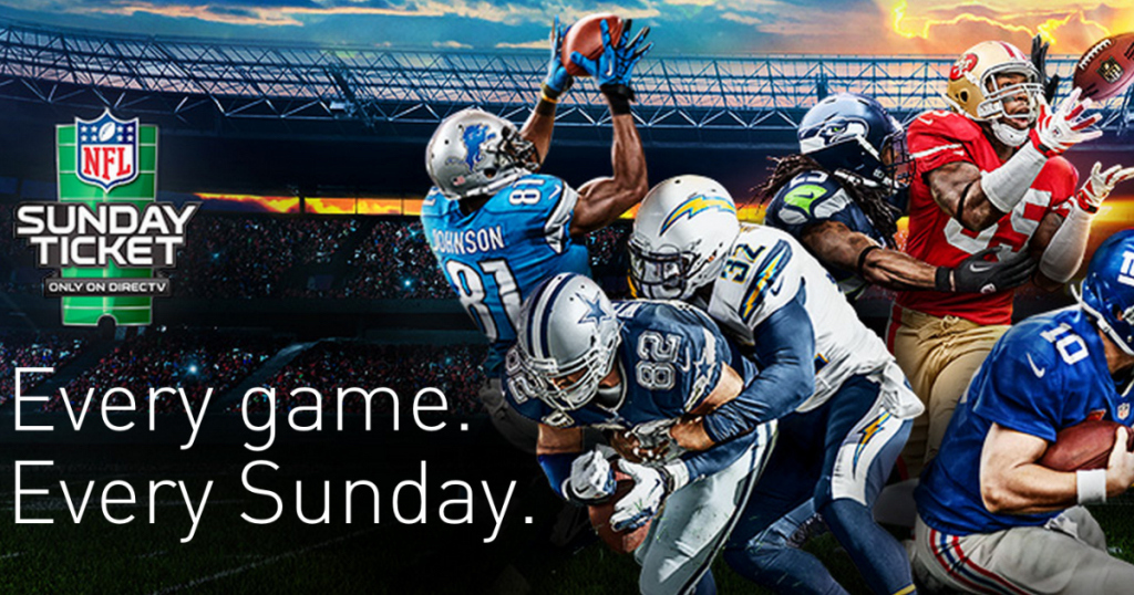 2018 NFL Sunday Ticket Logo