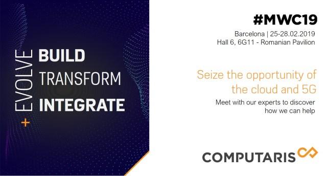 Computaris Mobile World Congress 2019 Barcelona visual ad