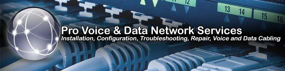Mississippi Onsite Computer Repair, Network, Voice and Data Cabling Services