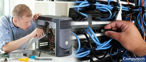 New Castle Indiana Onsite Computer PC & Printer Repairs, Network Support, & Voice and Data Cabling Services