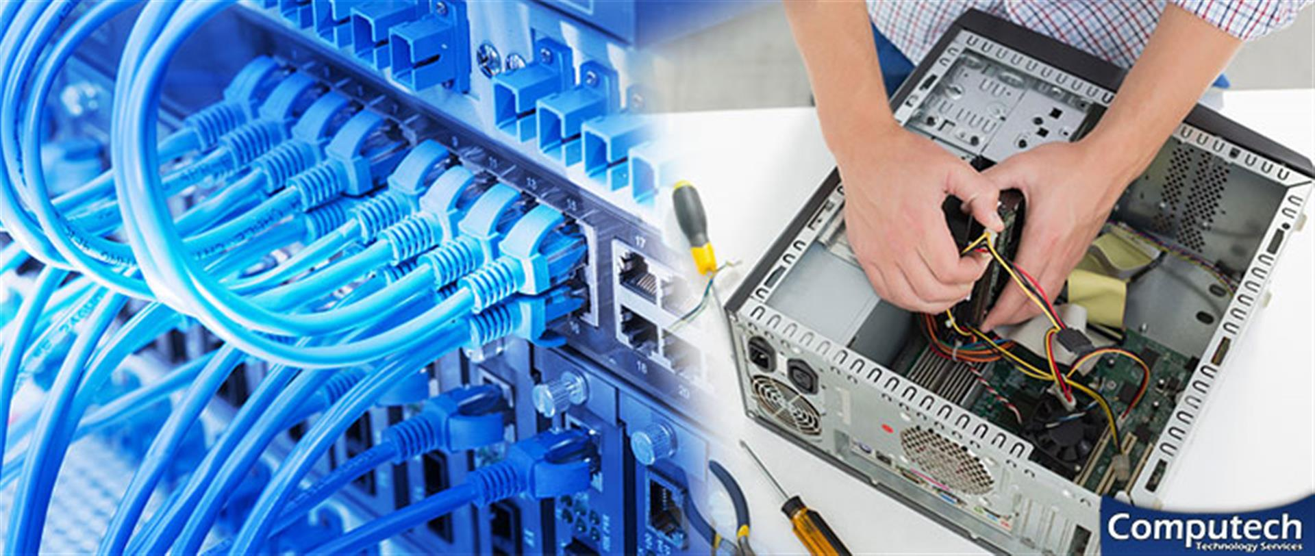 South Boston Virginia On Site Computer & Printer Repair, Network, Voice & Data Cabling Services