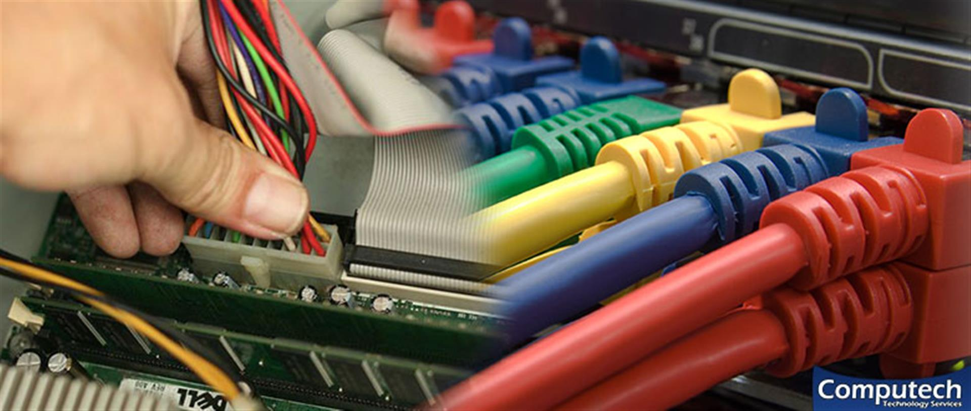 Charlottesville Virginia On Site PC & Printer Repairs, Networks, Voice & Data Cabling Solutions