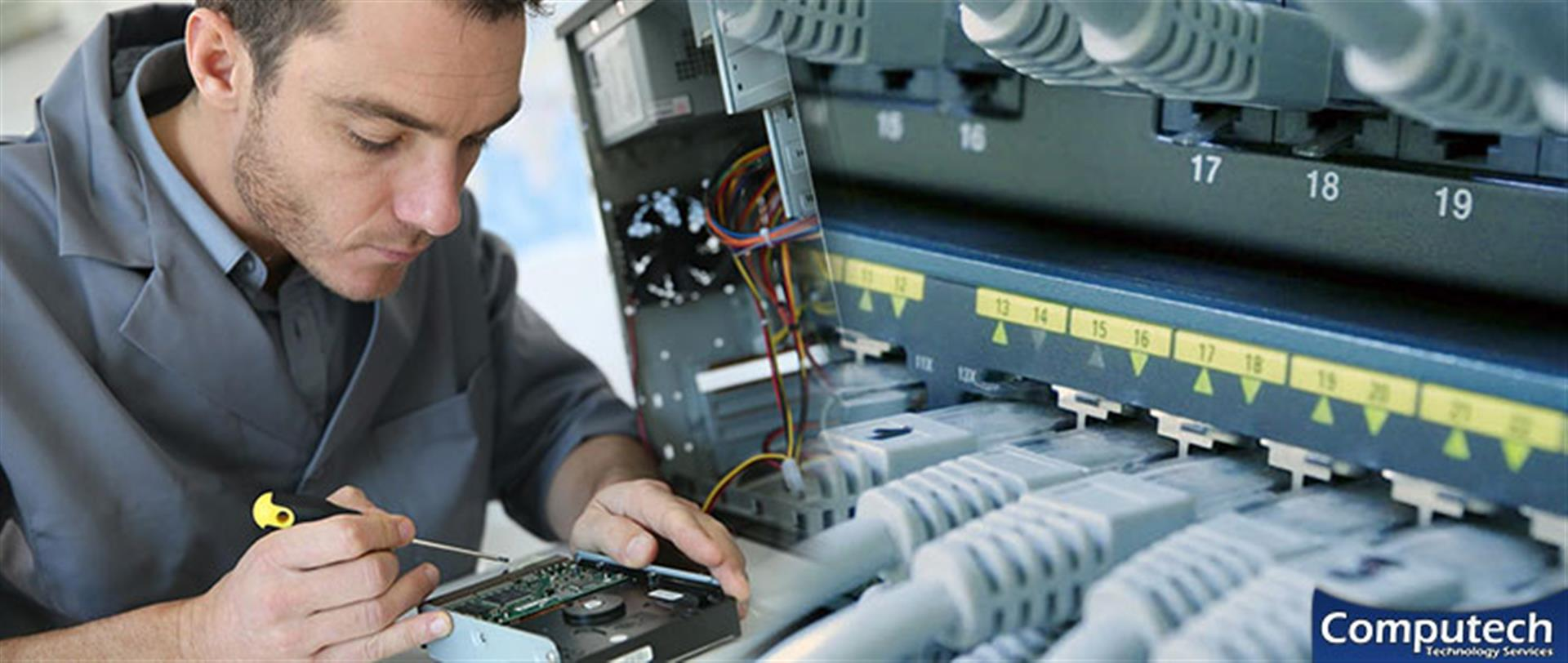 Herndon Virginia Onsite Computer & Printer Repairs, Network, Voice & Data Cabling Services
